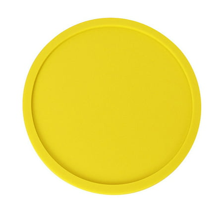 1Pc/8Pcs Round Silicone Coasters Non-slip Cup Mats Pad Drinks Table Glasses Mat Replacement