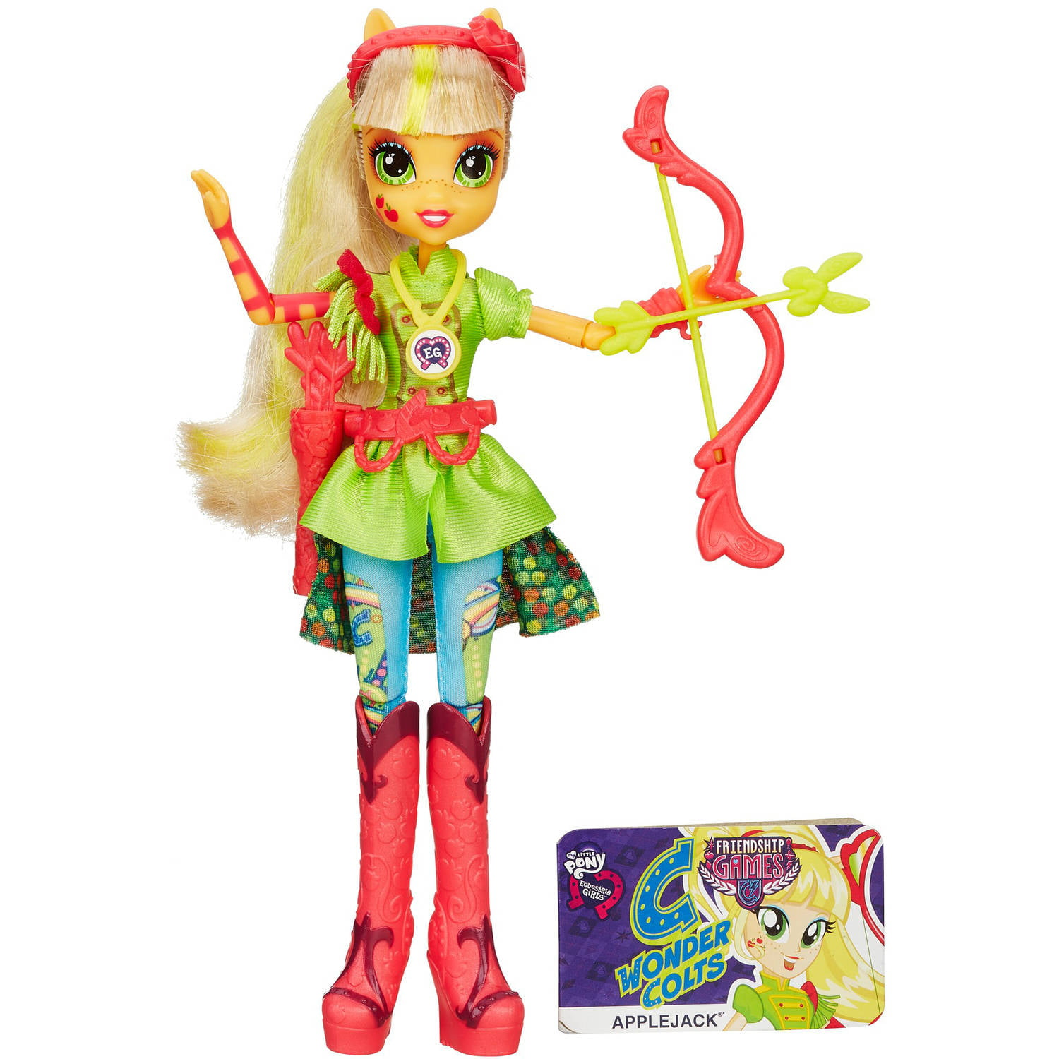 My Little Pony Equestria Girls Applejack Sporty Style Archery Doll by Hasbro