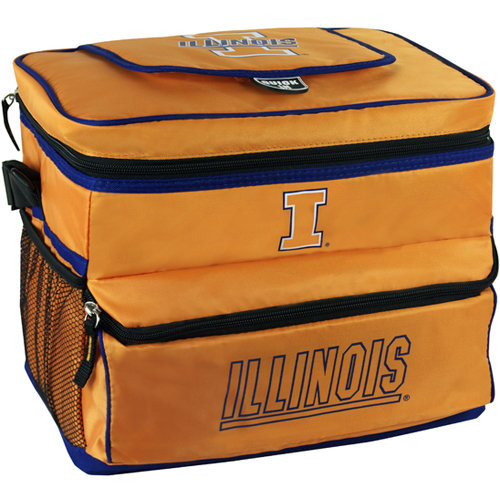 NCAA University Of Illinois 18-Can Cooler with Removable Hardliner