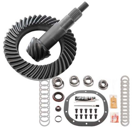 RICHMOND 4.56 RING AND PINION & MASTER INSTALL KIT TIMKEN - FORD -