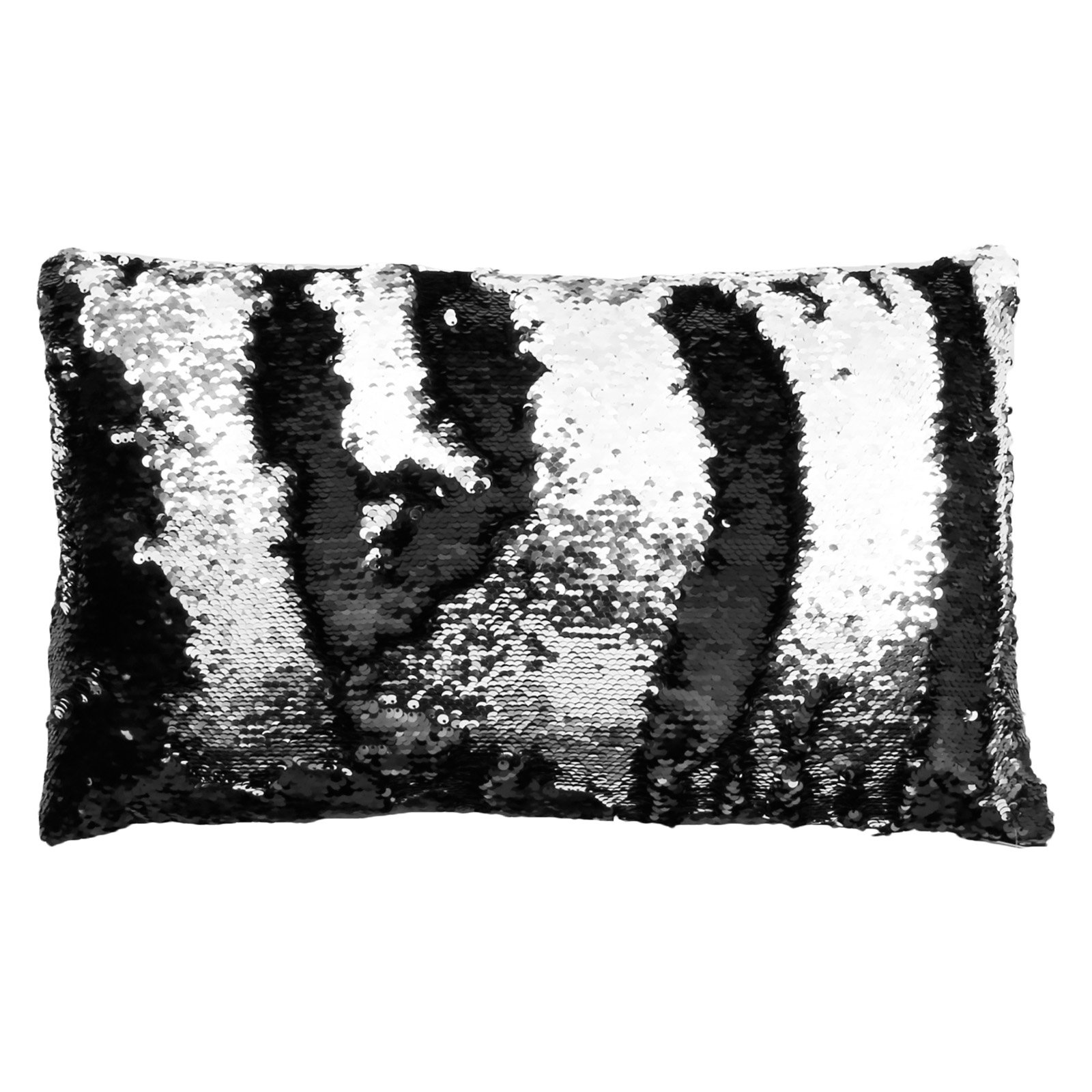 Thro LTD Melody Mermaid Shiny Metallic Rectangle Decorative Pillow