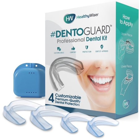 DentoGuard Mouth Guard - Teeth Grinding, Dentist-Approved Teeth Protectors, Offers Relief From Bruxism, TMJ & Teeth