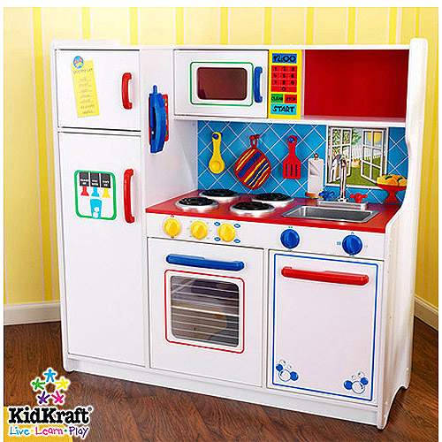 KidKraft Deluxe Let's Cook Kitchen