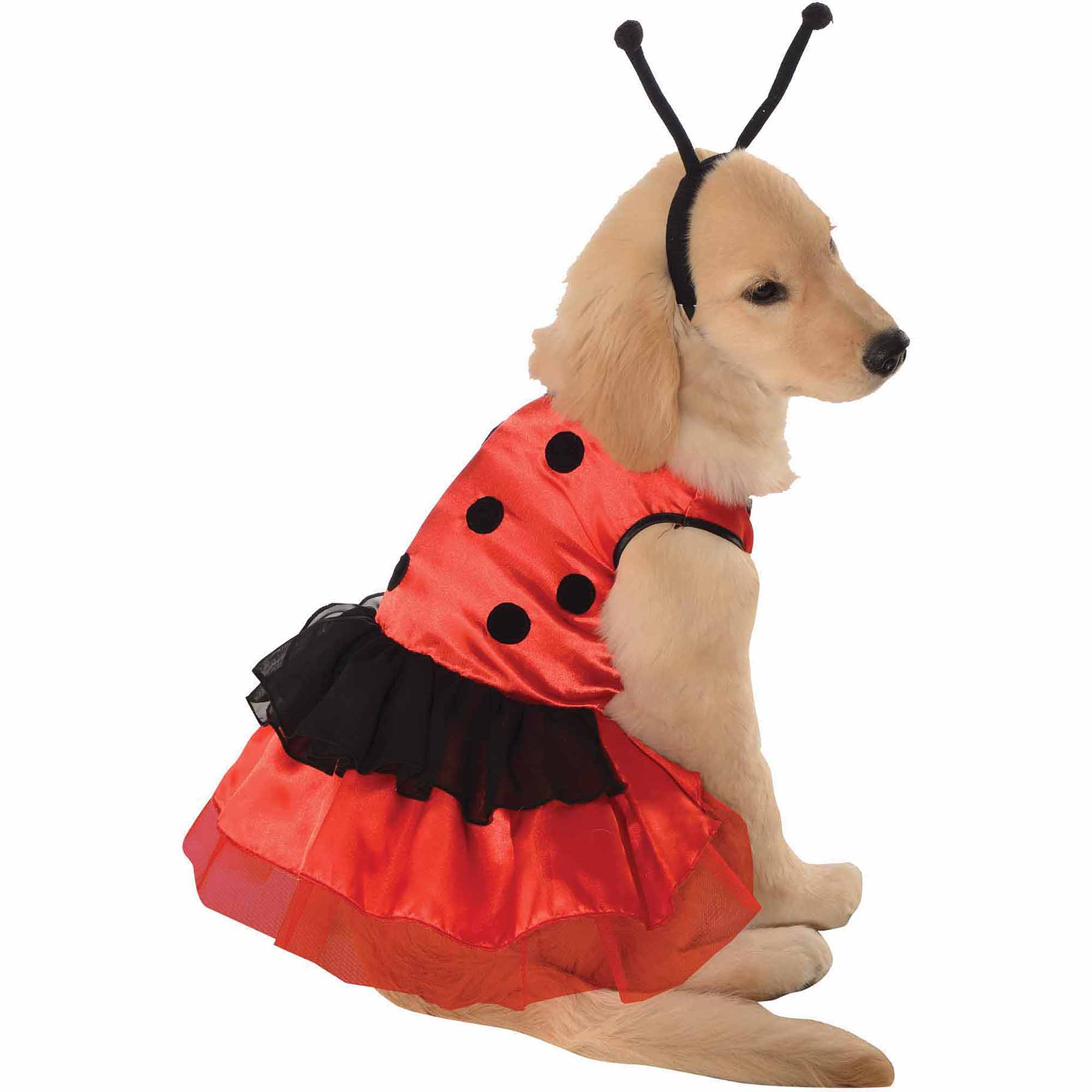 Lovely Ladybug Halloween Pet Costume (Multiple Sizes Available)