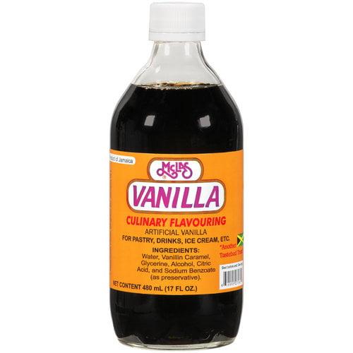 McLas Vanilla Culinary Flavoring, 17 oz