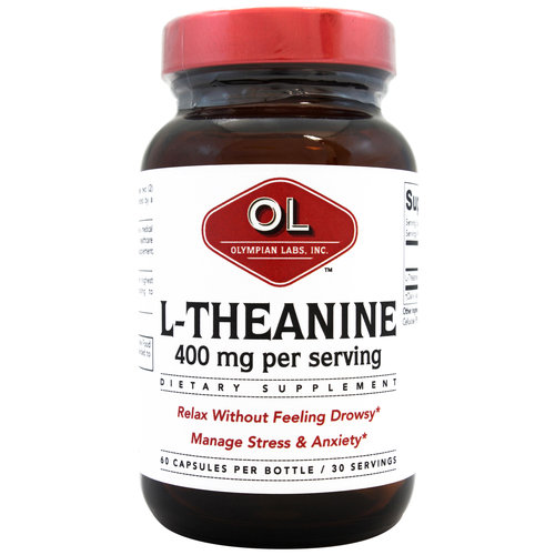 Olympian Labs-L-Theanine, 400mg 60ct