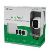 Arlo Pro 2 - 3 Wire-Free Camera 1080P HD Smart Security System (VMS4330P-100NAS) Motion Detection, Night Vision, Indoor/Outdoor, Two-Way Audio