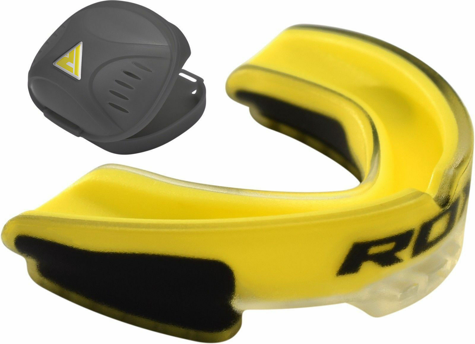 Boxing Mouth Guard MMA Martial Arts Gum Shield Rugby Teeth Sports T6P3 M0Y1
