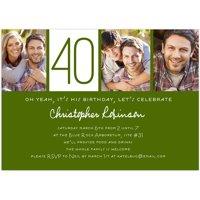 Birthday invitations walmart product image custom milestone birthday milestone invitation filmwisefo