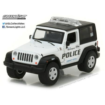 Greenlight 1:64 Hot Pursuit Series 23 2009 Jeep Wrangler Burlington Wisconsin ()