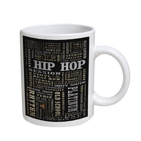 KuzmarK Coffee Cup Mug 11 Ounce -  Hip Hop Platinum