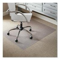ES Robbins Task Series 46 x 60 Chair Mat for Low Pile Carpet, Rectangular
