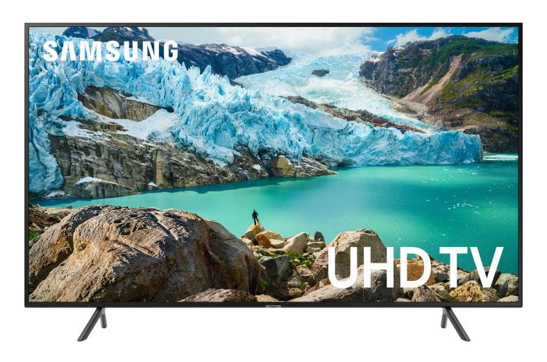 "Samsung 75"" Smart 4K UHD TV - Charcoal Black (UN75RU7100FXZA)"