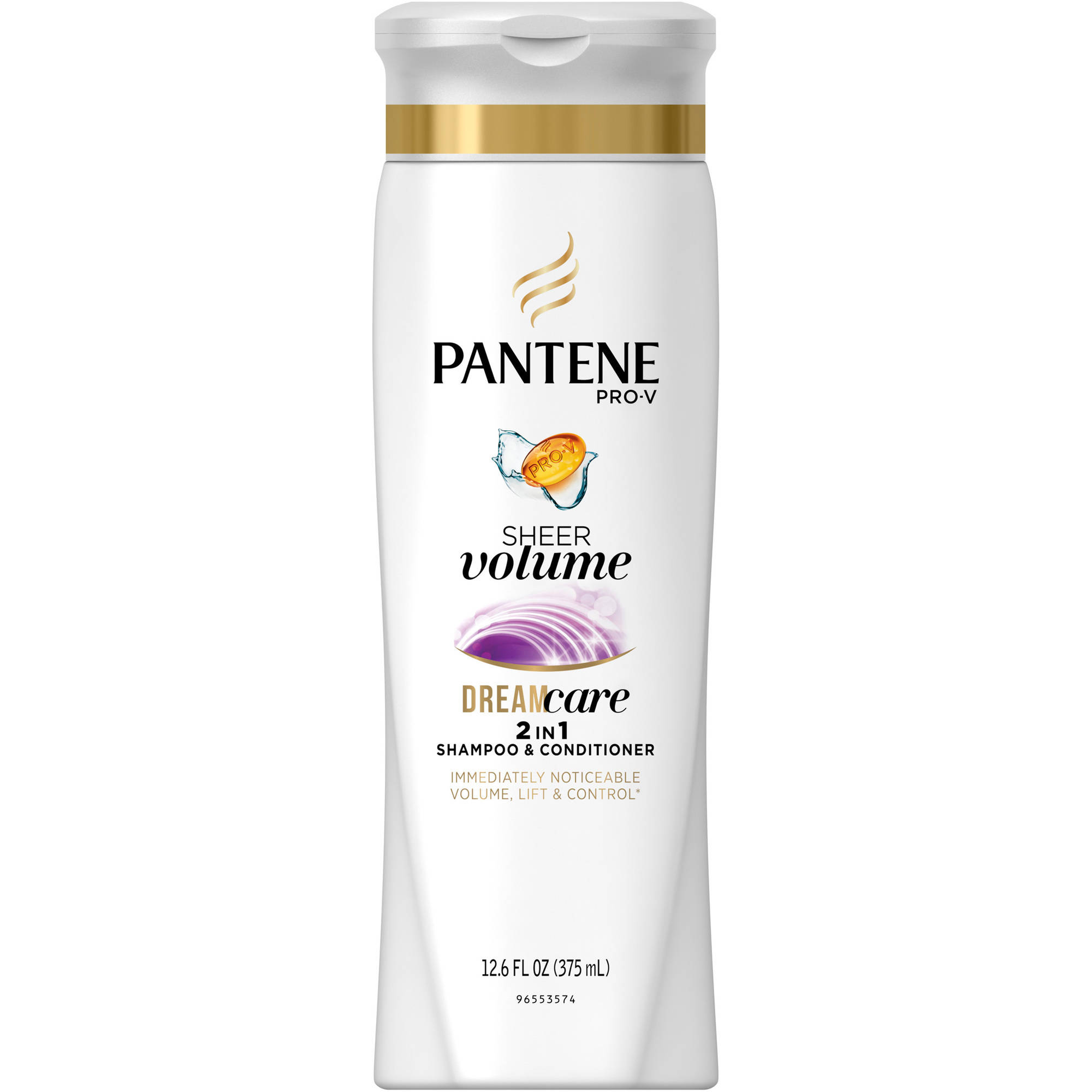 Pantene Pro-V Sheer Volume 2 in 1 Shampoo & Conditioner, 12.6 fl oz