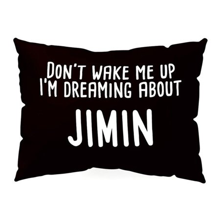 iLH KPOP Pillow Case DONT WAKE ME UP Rectangle Cushion Cover Home Decor Get up sofa ()