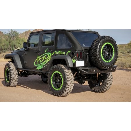 Addictive Desert Designs 07-18 Jeep Wrangler JK Venom Rear Bumper
