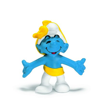 Anniversary Smurf, Hand-painted resin. By -