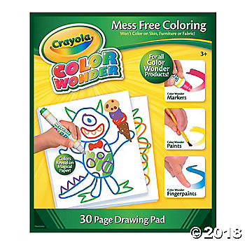 Crayola® Color Wonder Drawing Pad(pack of 1)