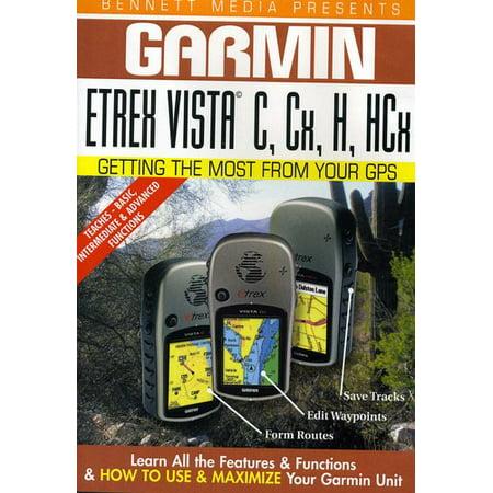 Garmin Etrex Vista C CX H HCX (Garmin Dvd)