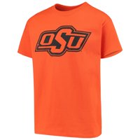 Oklahoma State Cowboys Russell Athletic Youth Oversized Graphic Crew Neck T-Shirt - Orange