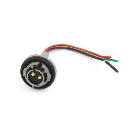 1157 BAY15D 1016 Turn Signal Brake Light Bulb Socket Connector Wire Harness Plug - image 1 of 1