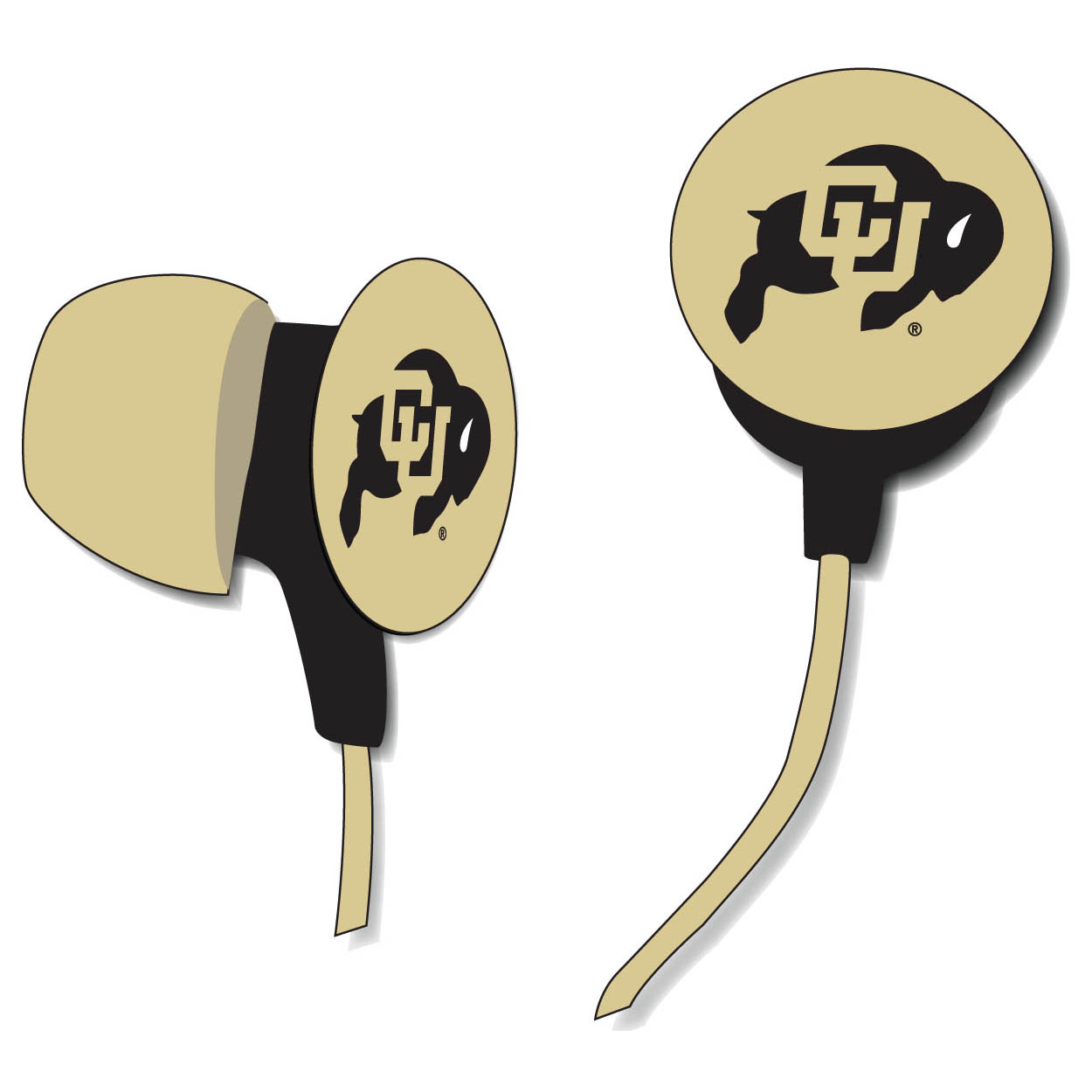 University Of Colorado Ear Buds