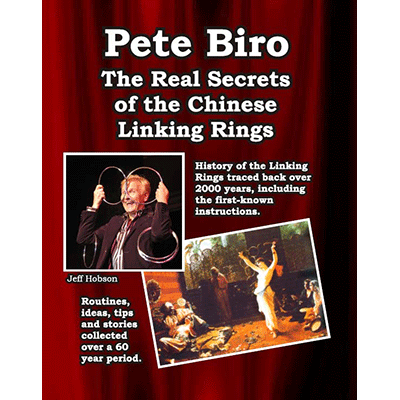The Real Secrets Of The Chinese Linking Rings By Pete Biro Book Walmart Com Walmart Com