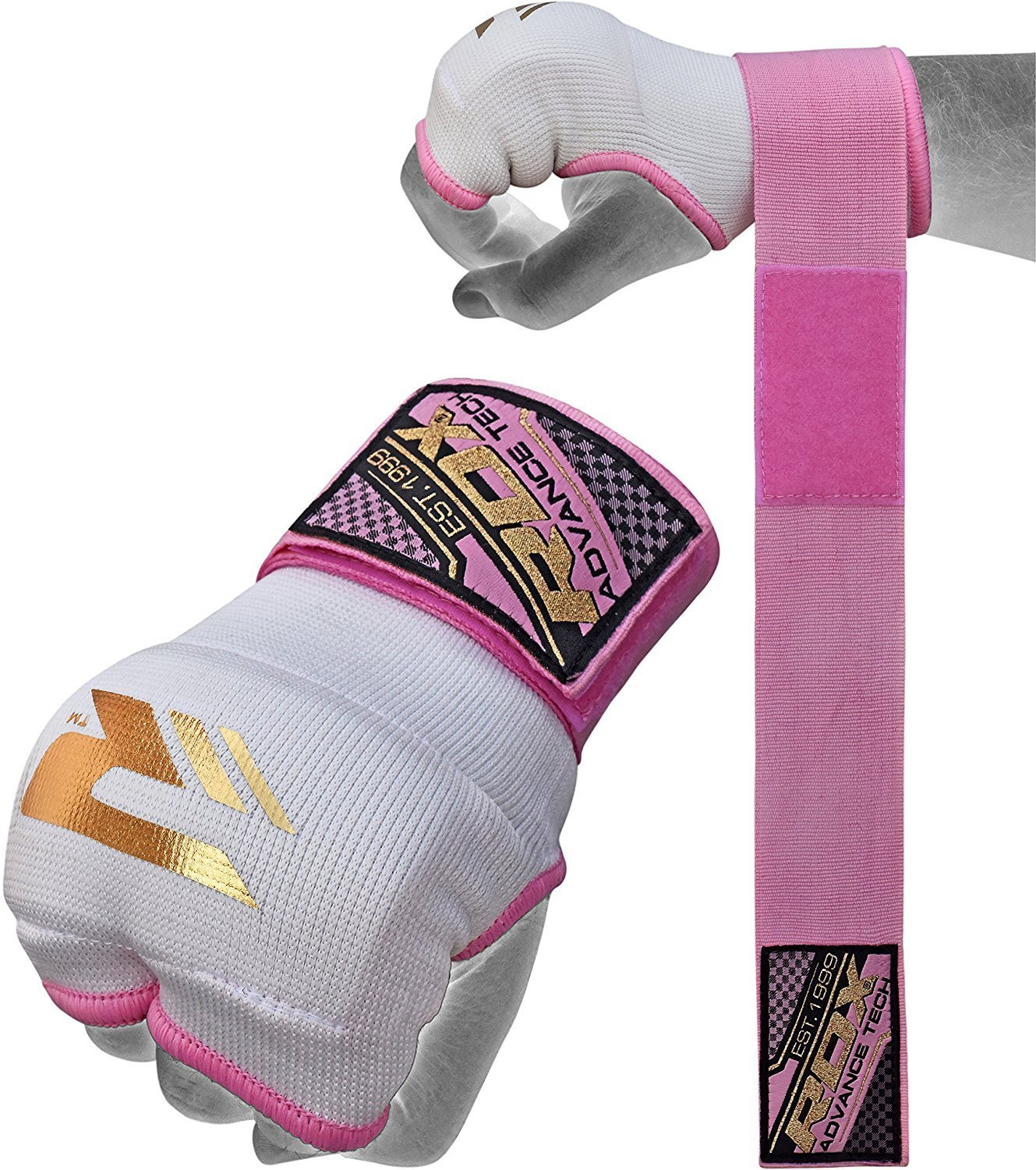 RDX Ladies Training Boxing Inner Gloves Hand Wraps MMA Fist Protector Bandages Mitts by RDX