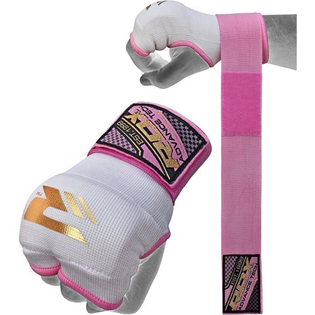 RDX Ladies Training Boxing Inner Gloves Hand Wraps MMA Fist Protector Bandages Mitts
