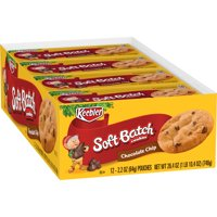 Keebler Soft Batch Chocolate Chip Cookies 2.2 oz 12 ct