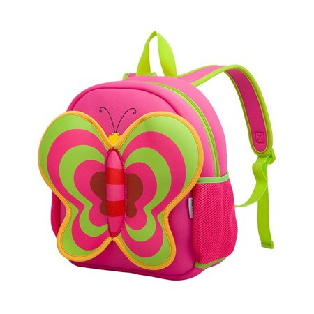 - Nohoo Neoprene Butterfly Backpack, Pink