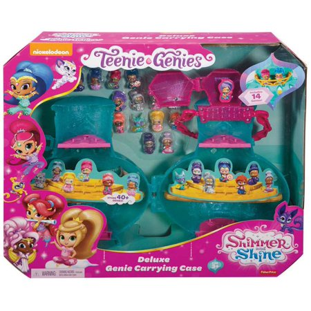 Shimmer & Shine Teenie Genies Deluxe Genie Carrying (Deluxe Table Carrying Case)
