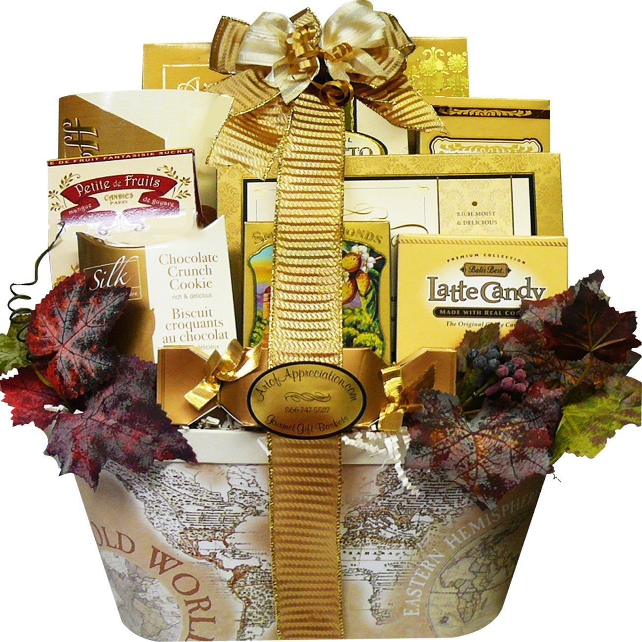 Art of Appreciation Gift Baskets Old World Charm Gourmet Food/ Snacks Gift Basket