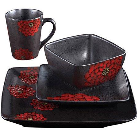 Image of American Atelier Asiana 16-Piece Dinnerware Set