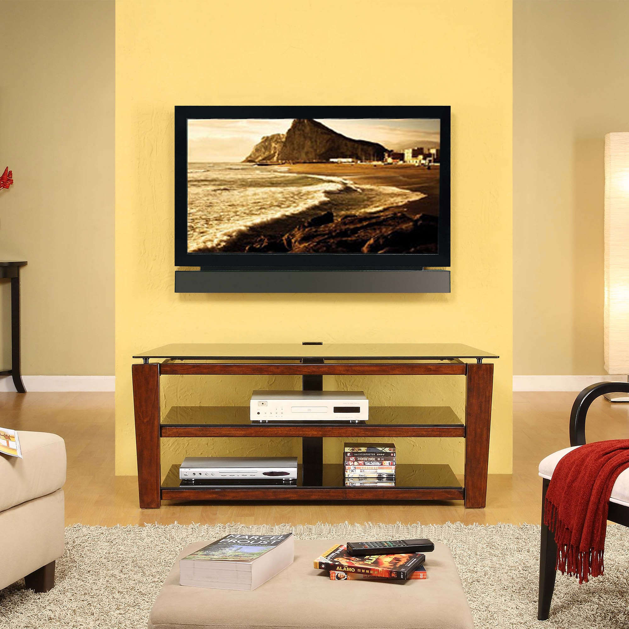 Whalen Swivel 3-in-1 TV Stand for TVs up to 60\