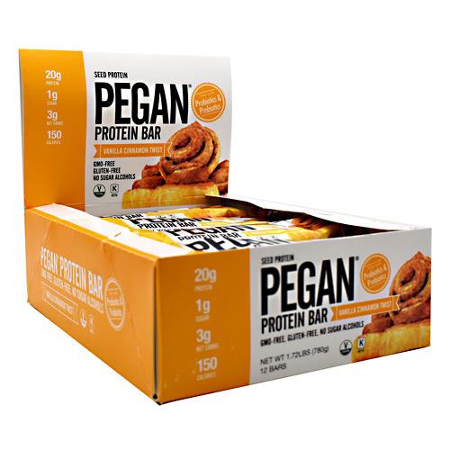 Julian Bakery Pegan Protein - Vanilla Cinnamon Twist - 12...