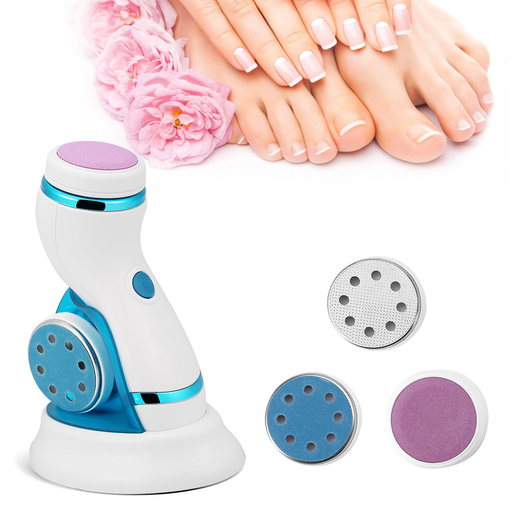 Electric Feet Scrubber Dead Skin Cuticles Remover Foot Exfoliator