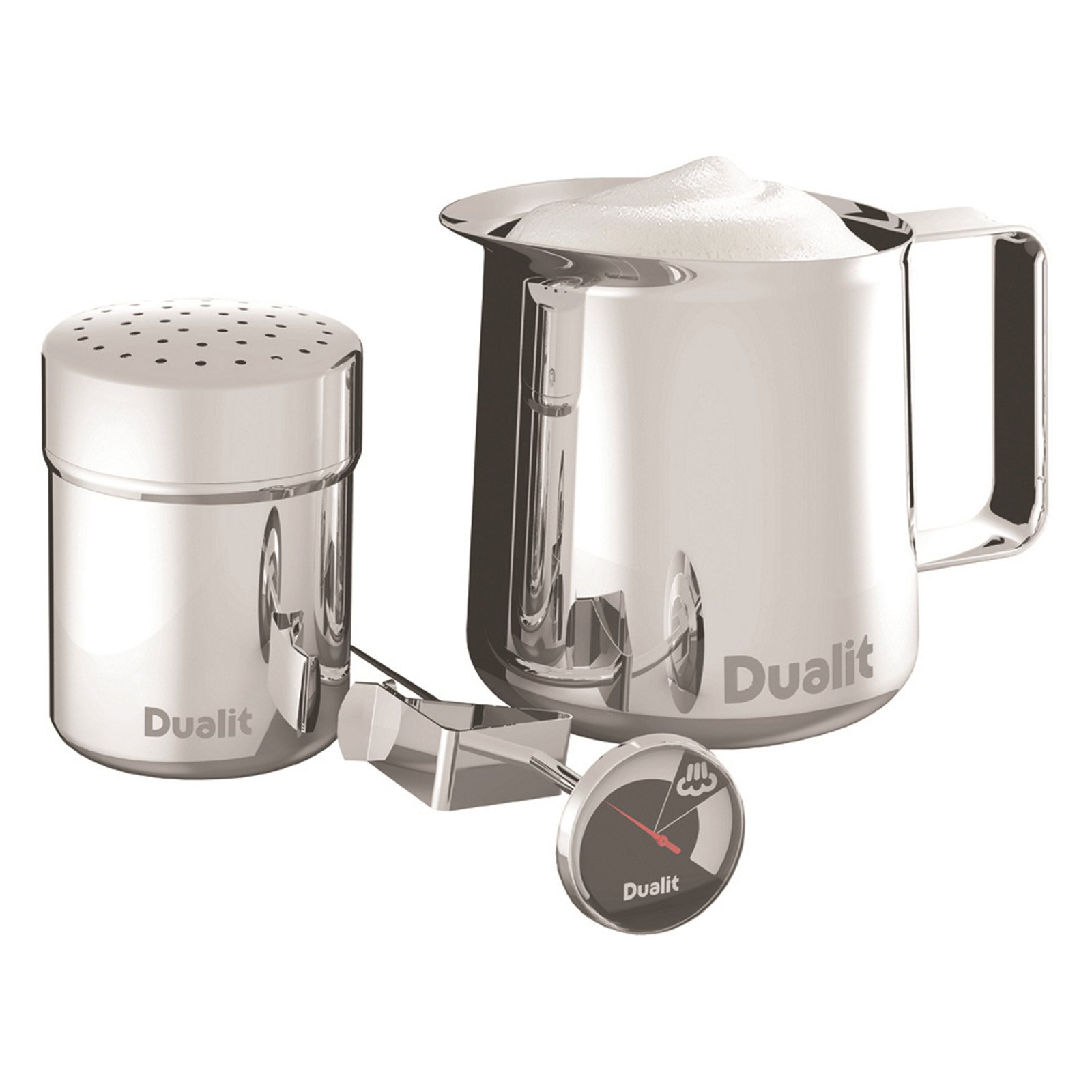 Dualit 85100 Barista Coffee Kit - Stainless Steel