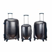 Rockland Luggage Hyperspace 3-Piece Polycarbonate Spinner Set