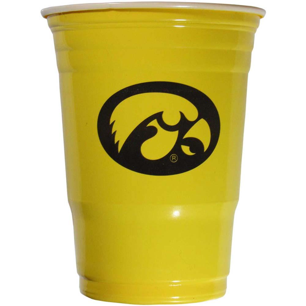 Iowa Hawkeyes Plastic Game Day Cups