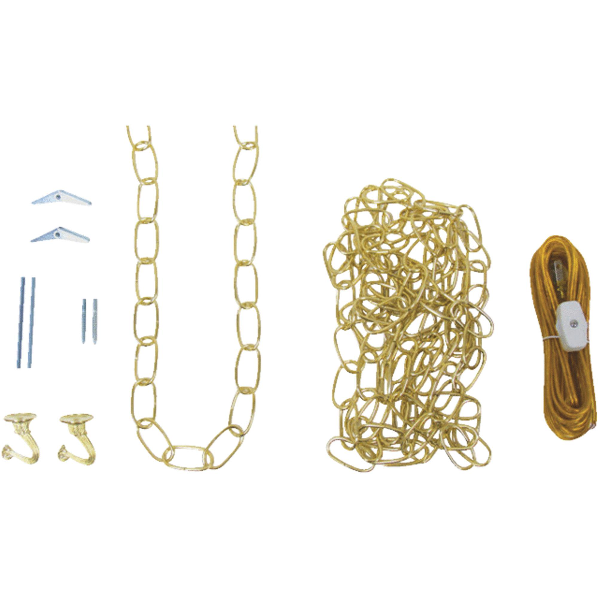 Westinghouse 7048000 12' Brass Swag Light Kits