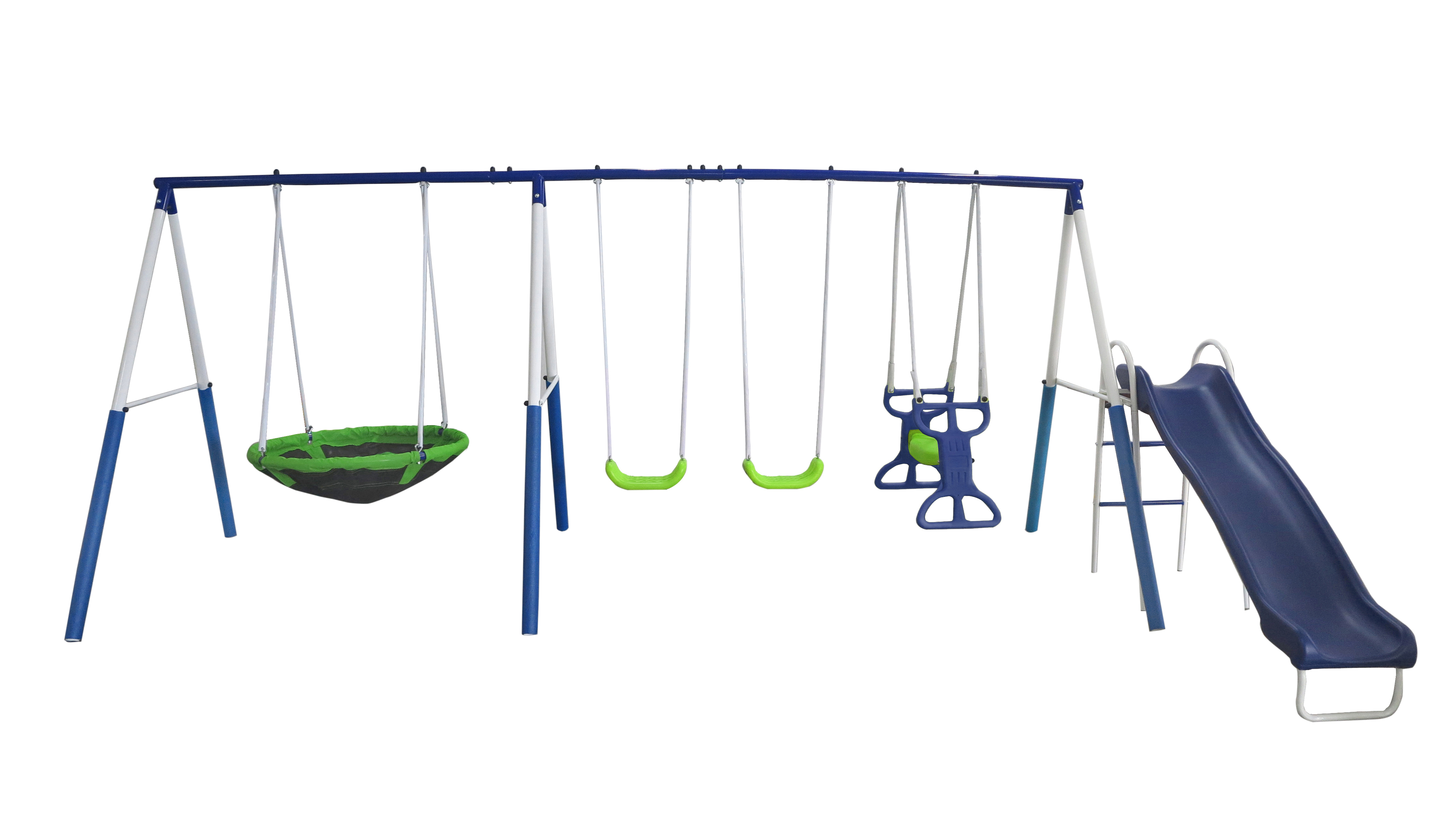 XDP Recreation All Star Playground Metal Swing Set
