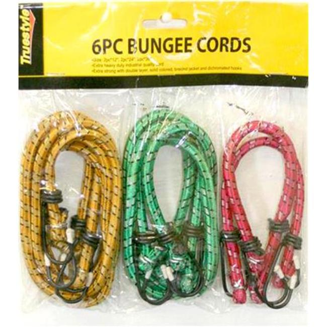 DDI 901367 6 Piece Bungee Cords Case Of 48