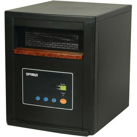 Optimus 91578923M Ceramic Zone Heating System Black