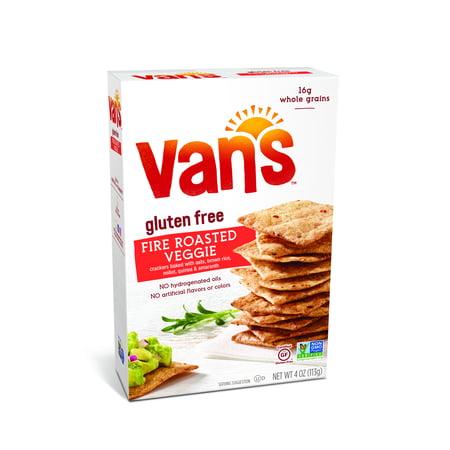 2848a26193 Van s Fire Roasted Veggie Crackers - Walmart.com