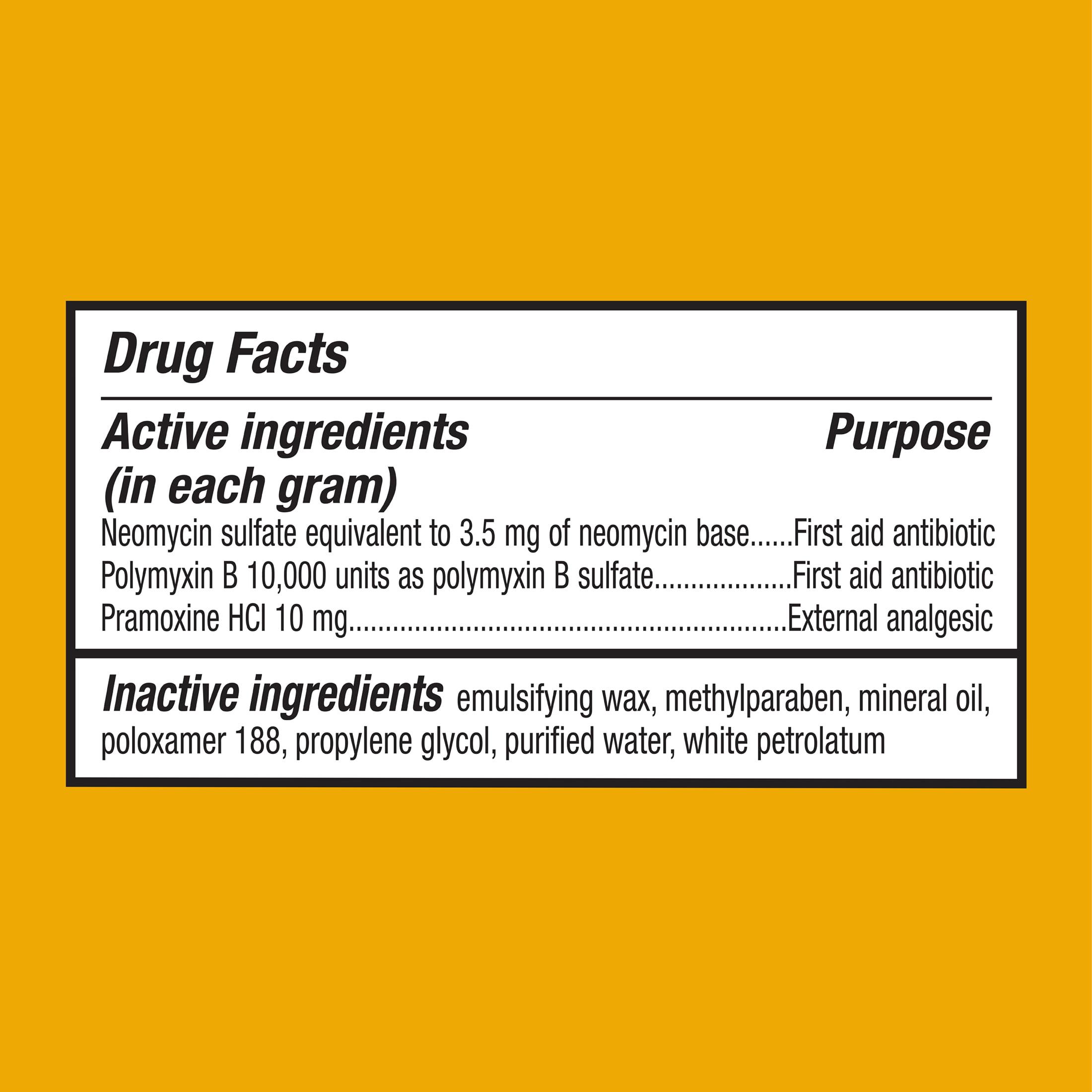 Equate Maximum Strength Antibiotic Plus Pain Relief Cream, 0 5 Oz