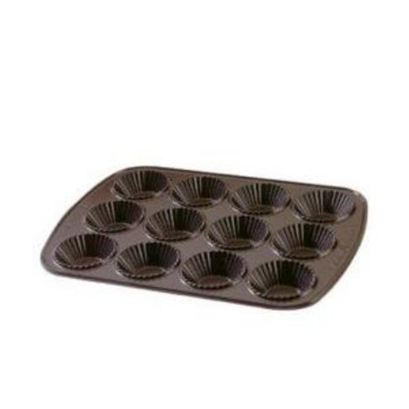 Nordic Ware Platinum Collection Bundt Bakeware Cast Aluminum French Tartlette Pan