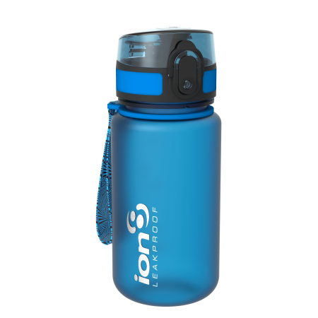 Ion8 Pod Leak Proof BPA Free Kids Water Bottle, 350ml (12 oz), Frosted