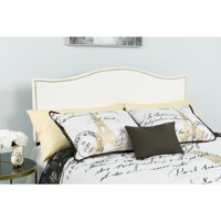 Flash Furniture Lexington Upholstered Headboard with Decorative Nail Trim, Multiple Sizes and Colors