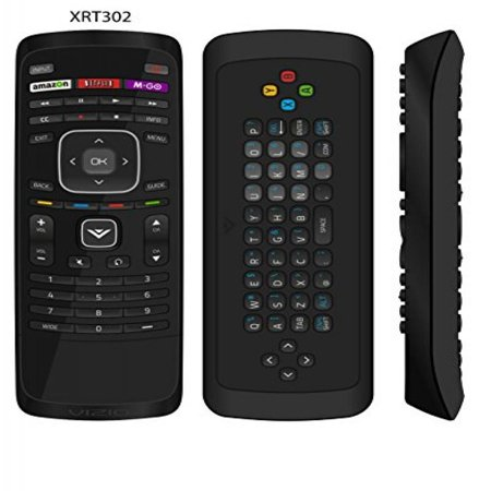 New Usarmt Xrt302 Remote For Vizio With Qwerty Dual Side Keyboard Amazon Netflix M Go Hot Keys For Vizio Smart Tv